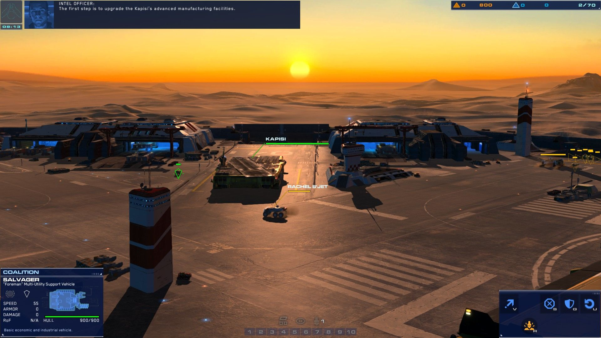 Homeworld: Deserts of Kharak Windows the base