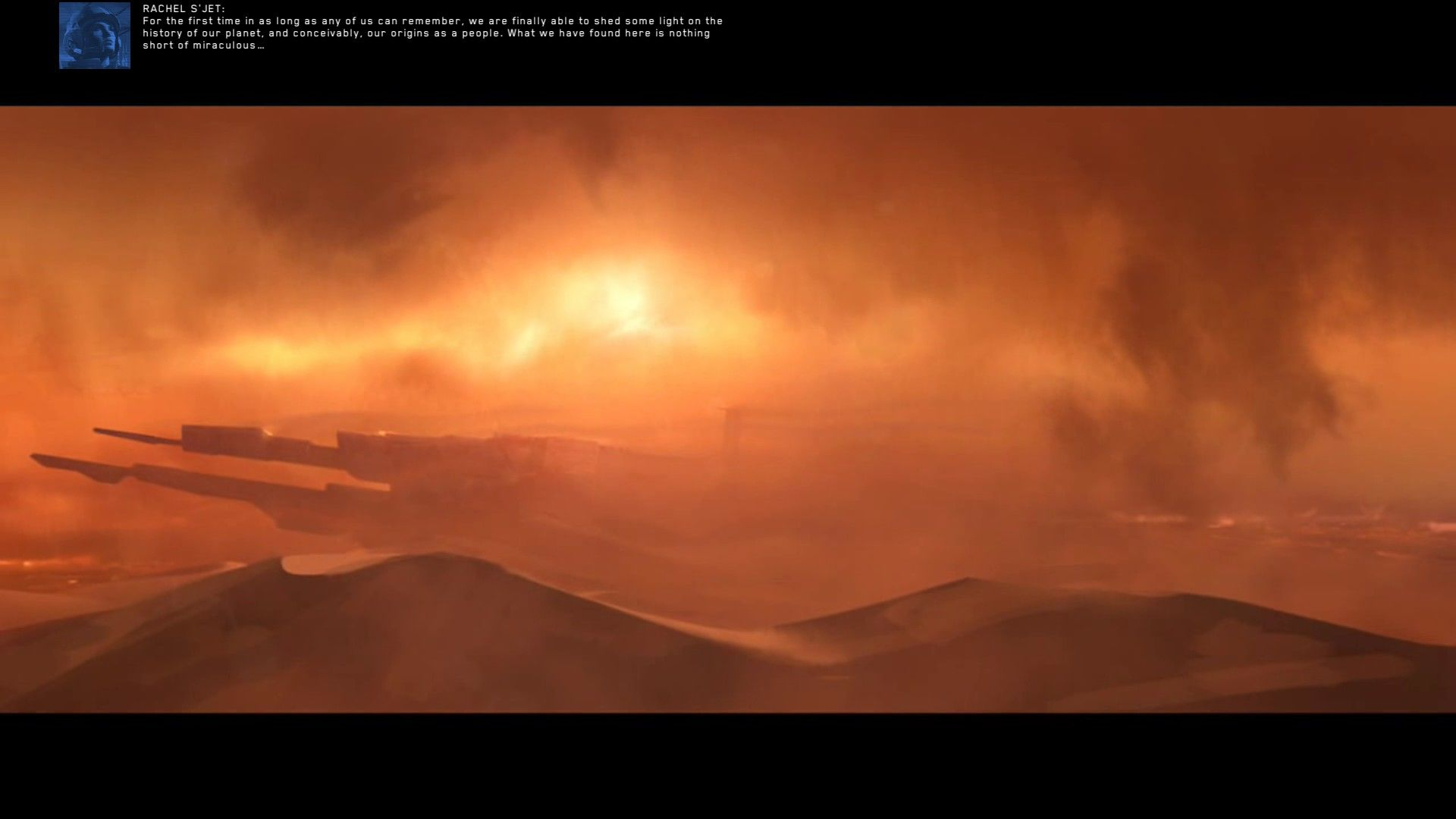 Homeworld: Deserts of Kharak Windows sand storm