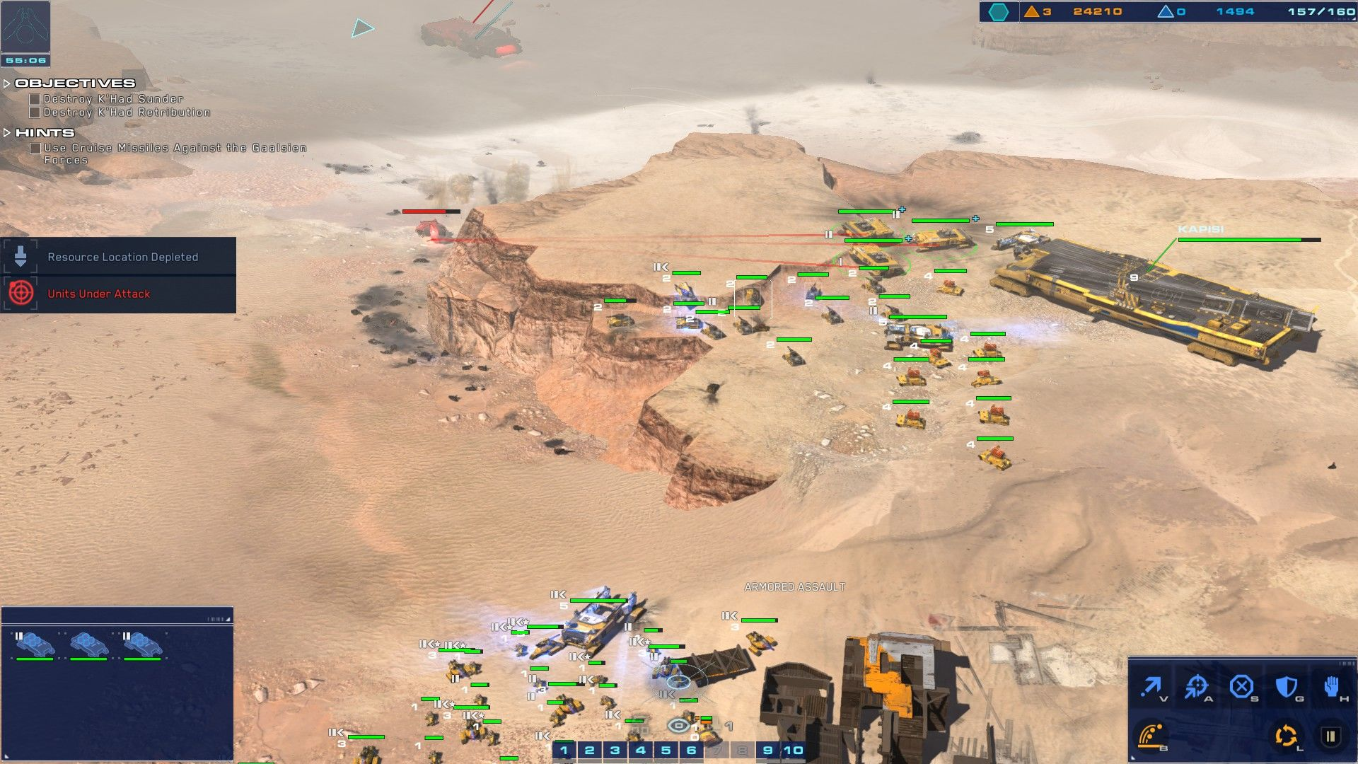 Homeworld: Deserts of Kharak Windows standing the ground