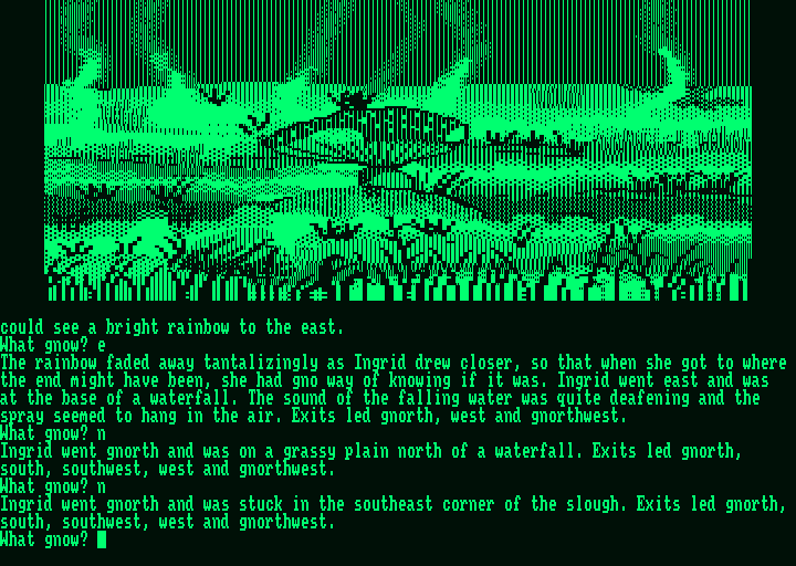 Gnome Ranger Screenshots for Amstrad PCW - MobyGames