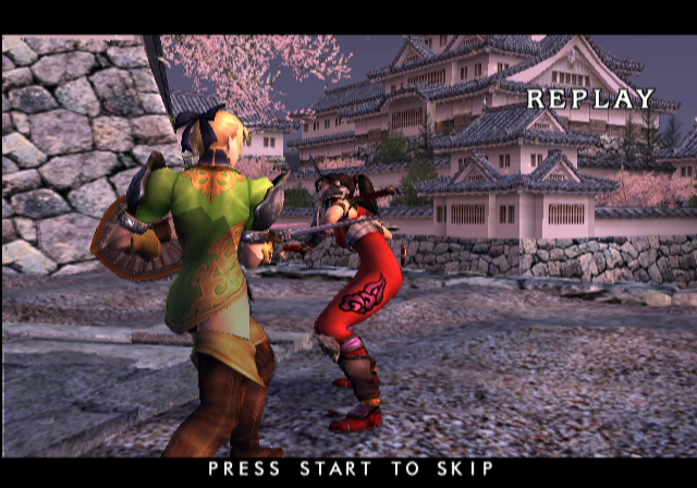 SoulCalibur II GameCube Instant replay