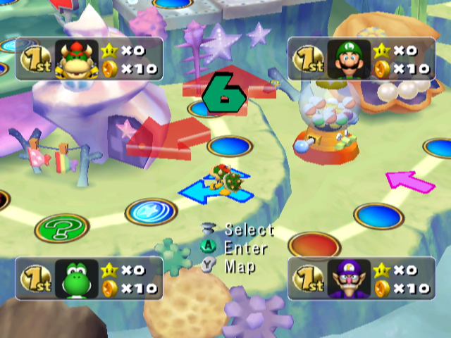 Mario Party 5 Ntsc Front Cover Images Picture