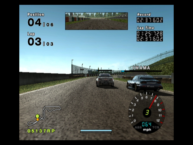 R:Racing Evolution GameCube Racing with a first person perspective