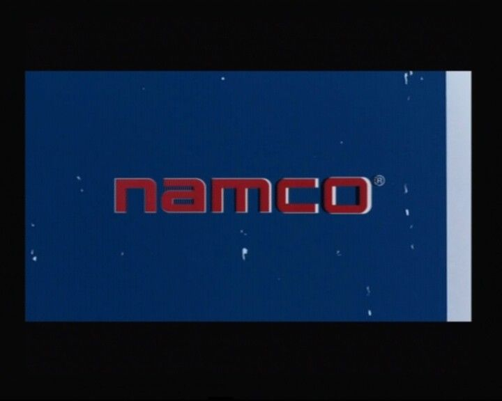 Dead to Rights PlayStation 2 Namco logo from the opening cinematic