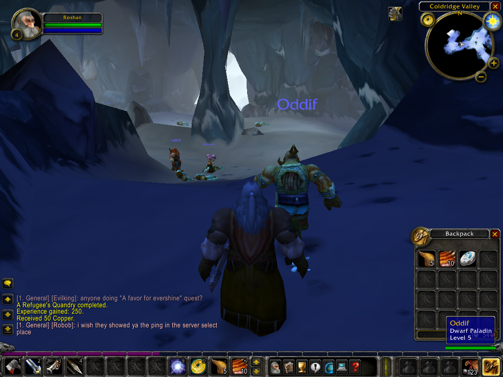 World of Warcraft Windows There are many caves for you to explore