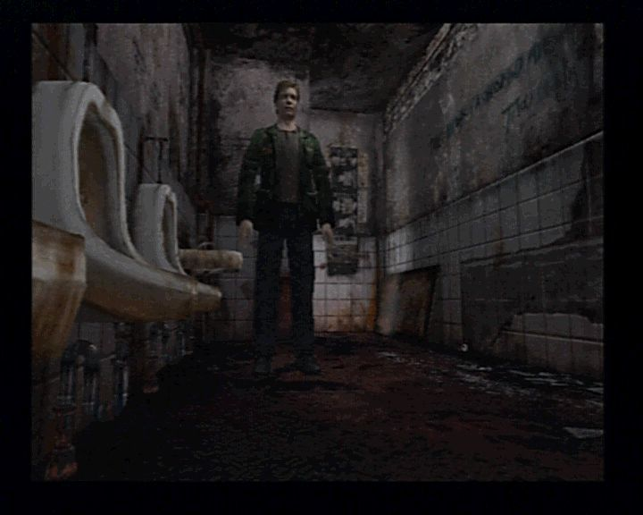 Silent Hill 2 PlayStation 2 Not the best place to start the game, huh?