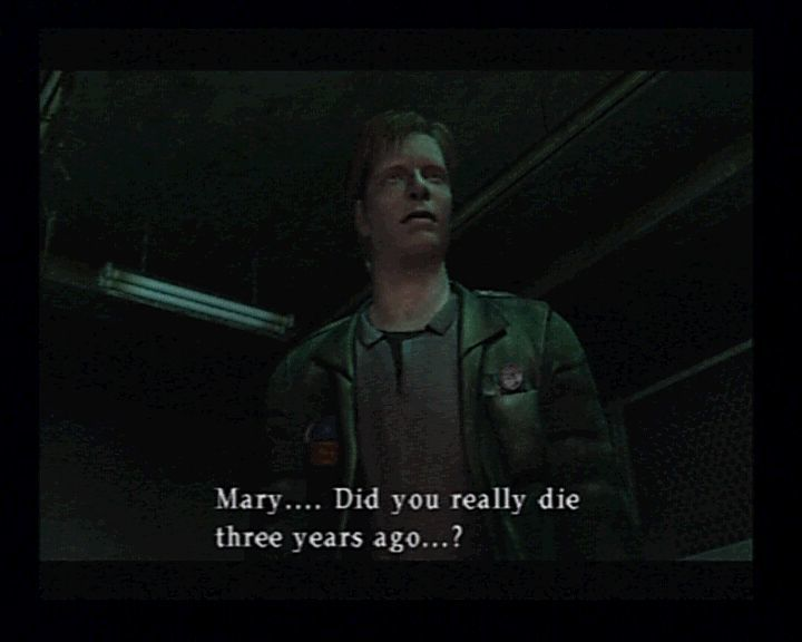 Silent Hill 2 PlayStation 2 After some time of playing, even you will start to question your sanity.