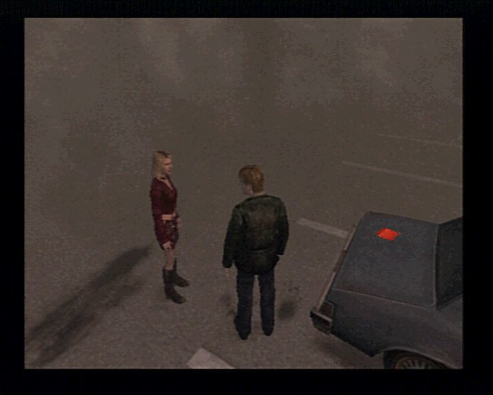 Silent Hill 2 PlayStation 2 There will be a time when you'll have to take care of someone else beside you. A better looking someone else.