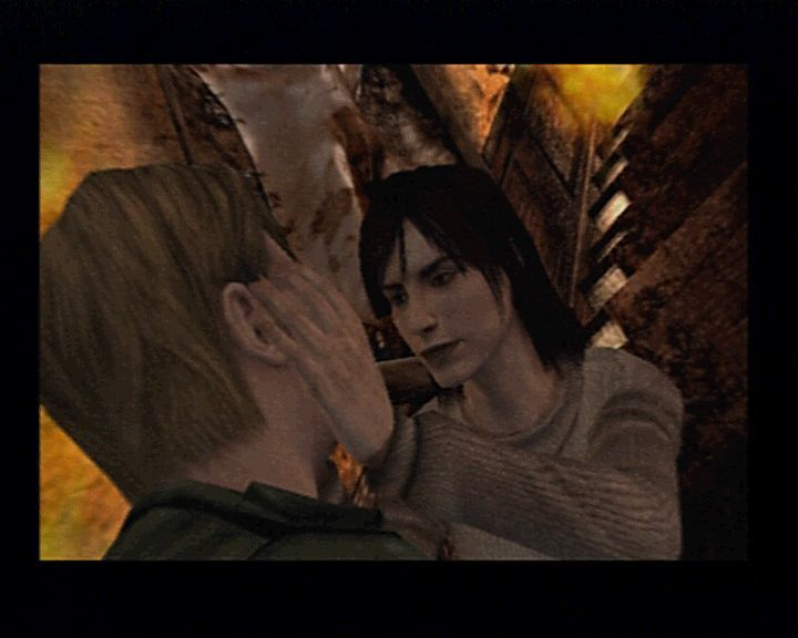 Silent Hill 2 PlayStation 2 A moment of judgement.