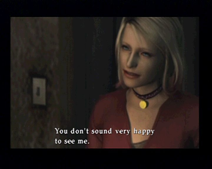 Silent Hill 2 PlayStation 2 It's a strange relationship between Maria and you... it always lets you ask yourself what will happen next and is there a point when you'll get to answer her what you want.
