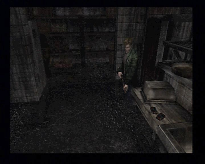 Silent Hill 2 PlayStation 2 Walking through the flooded areas is particularly well made.