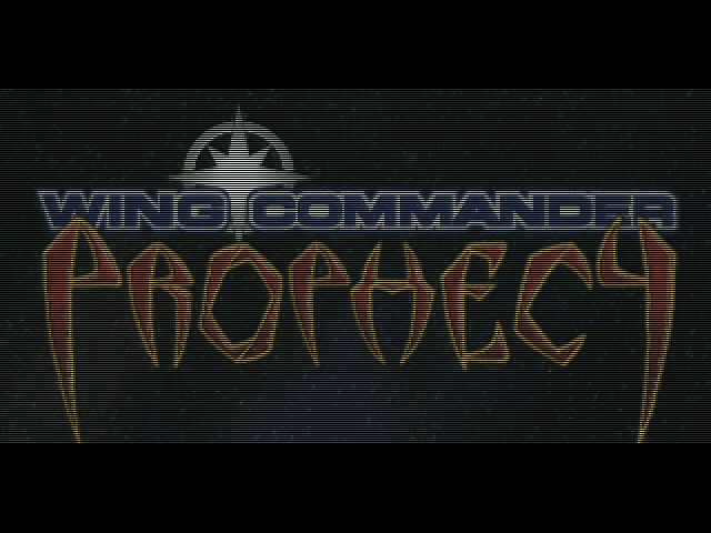 Wing Commander: Prophecy Windows Intro Start Up