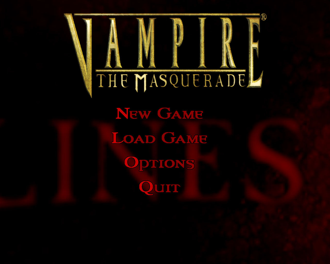 Vampire: The Masquerade - Bloodlines Windows This is where it all begins.  The music at this point, and every point afterward, is outstanding