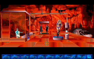 Tex Murphy 2: Martian Memorandum sur PC 91677-martian-memorandum-dos-screenshot-all-these-evil-geniuses-think