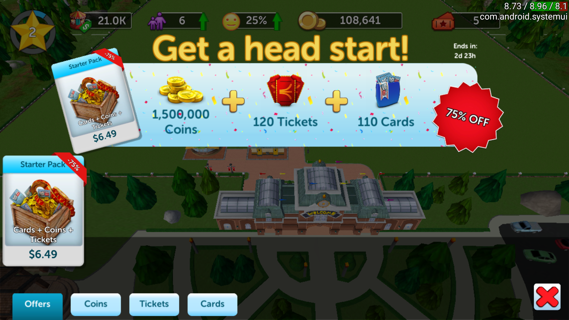 RollerCoaster Tycoon: Touch Screenshots for Android - MobyGames