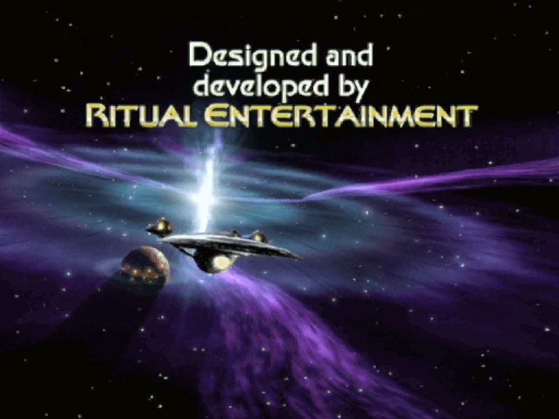 Star Trek: Elite Force II Windows The opening cinematic, in the style of TV credits.