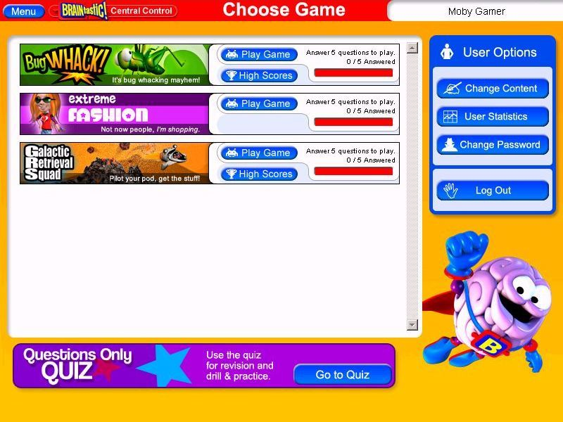 BRAINtastic! Word Skills Key Stage 2 Screenshots for Windows - MobyGames