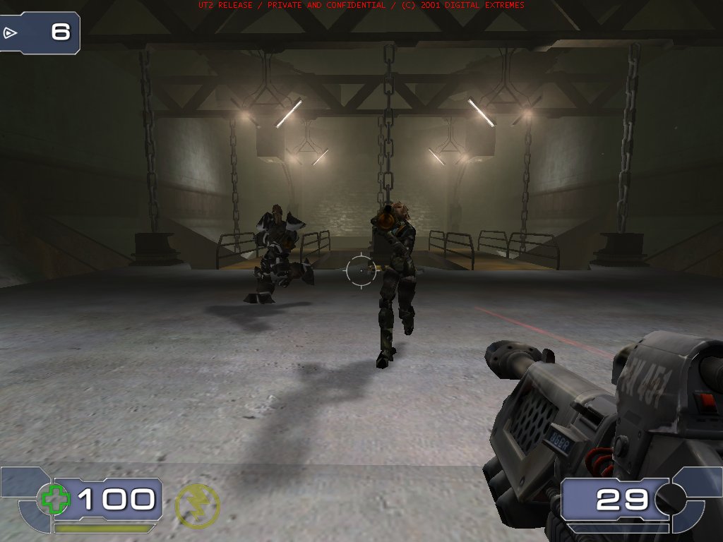 Unreal Tournament 2003 Windows Ready to fight some fierce opponents.