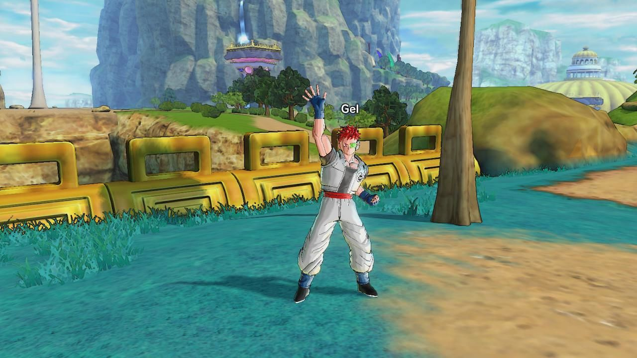 Dragon Ball: Xenoverse 2 Nintendo Switch Your protagonist greets you