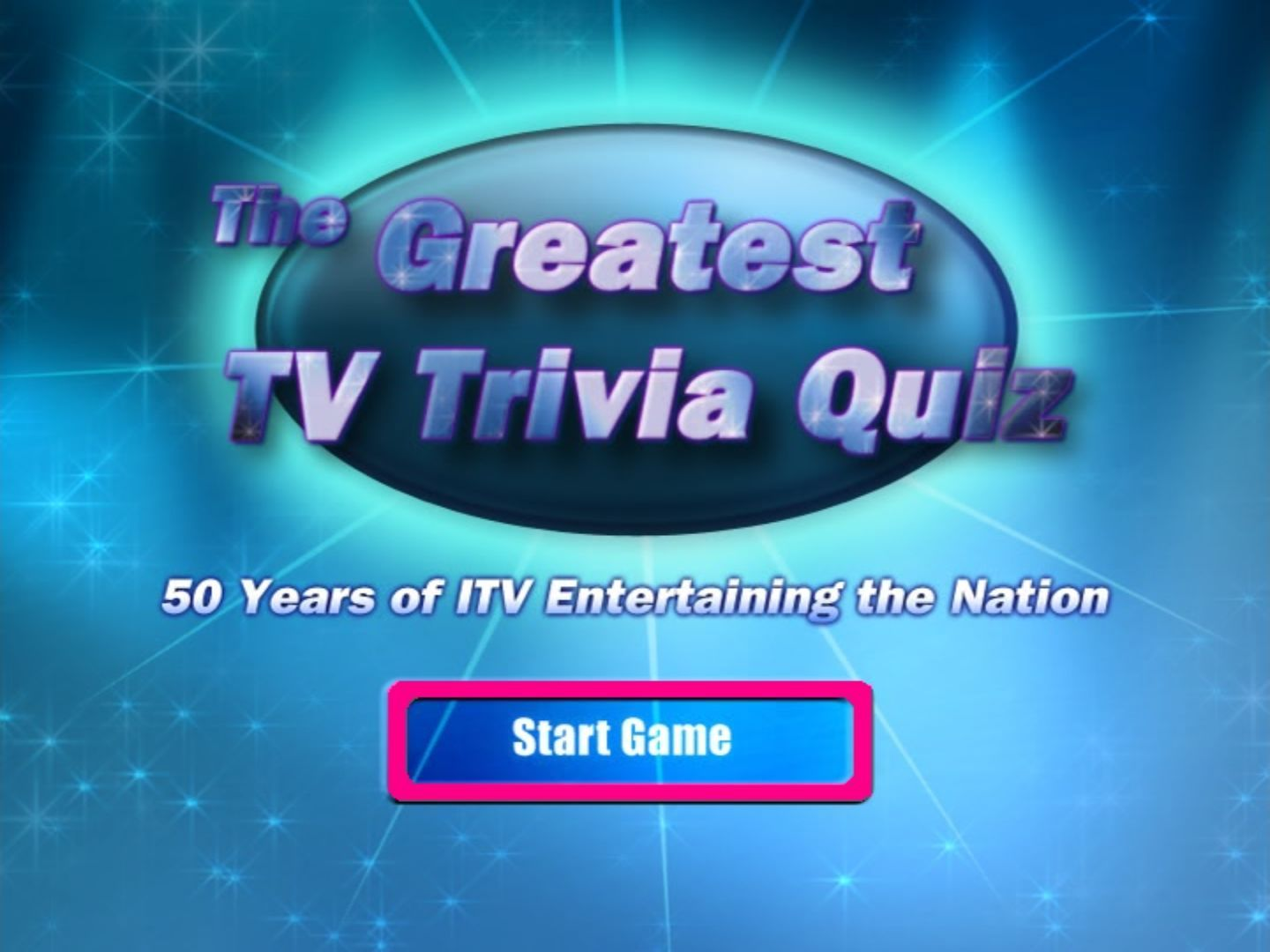 The Greatest TV Trivia Quiz Screenshots for DVD Player - MobyGames