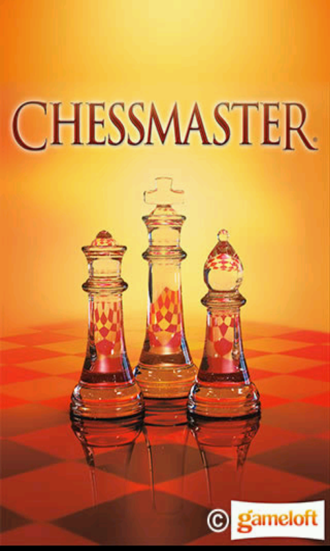 Chessmaster Android Title screen