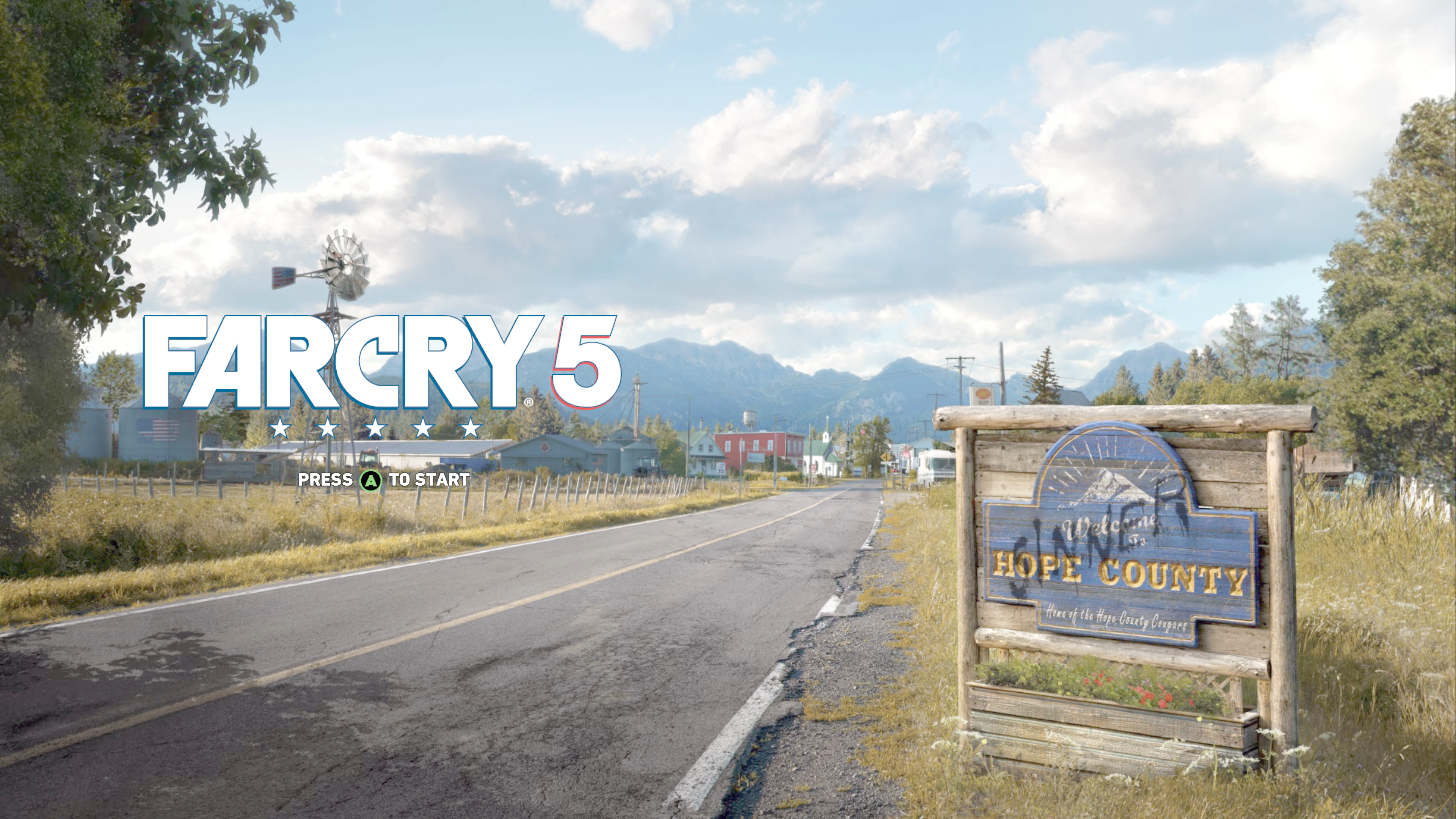 Far Cry 5 Xbox One Main Menu
