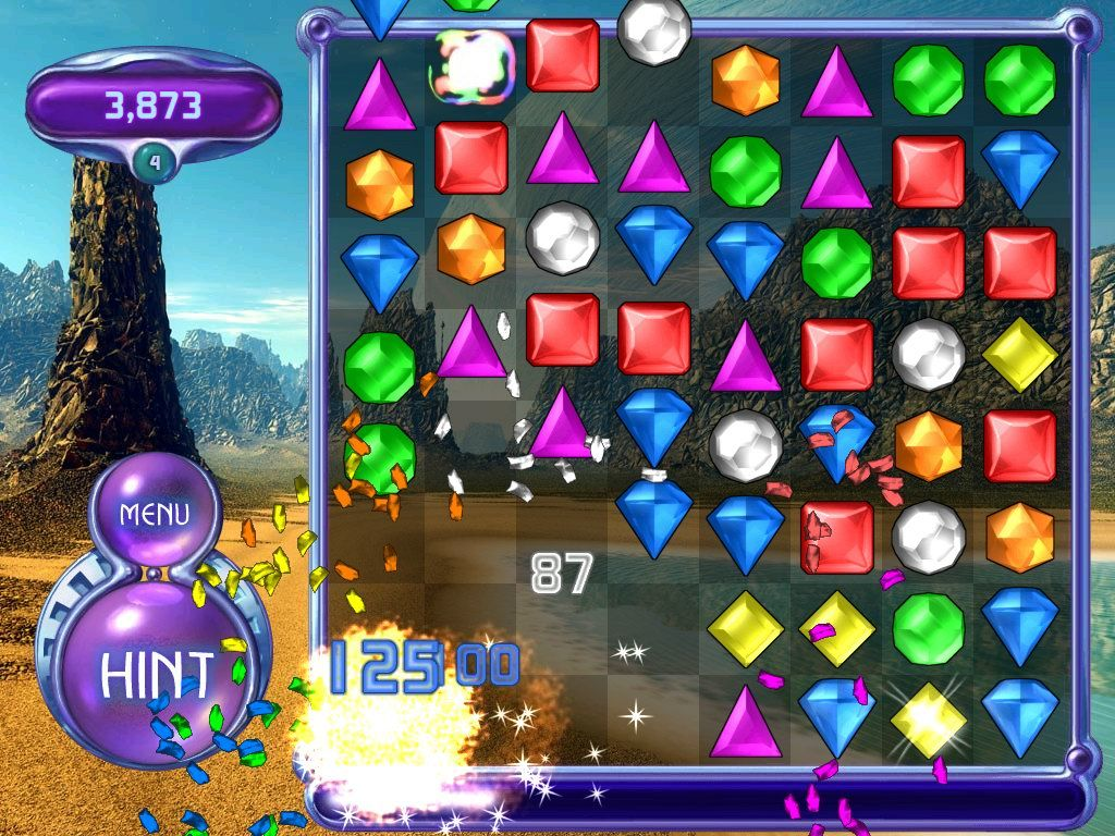 msn free online games bejeweled 2