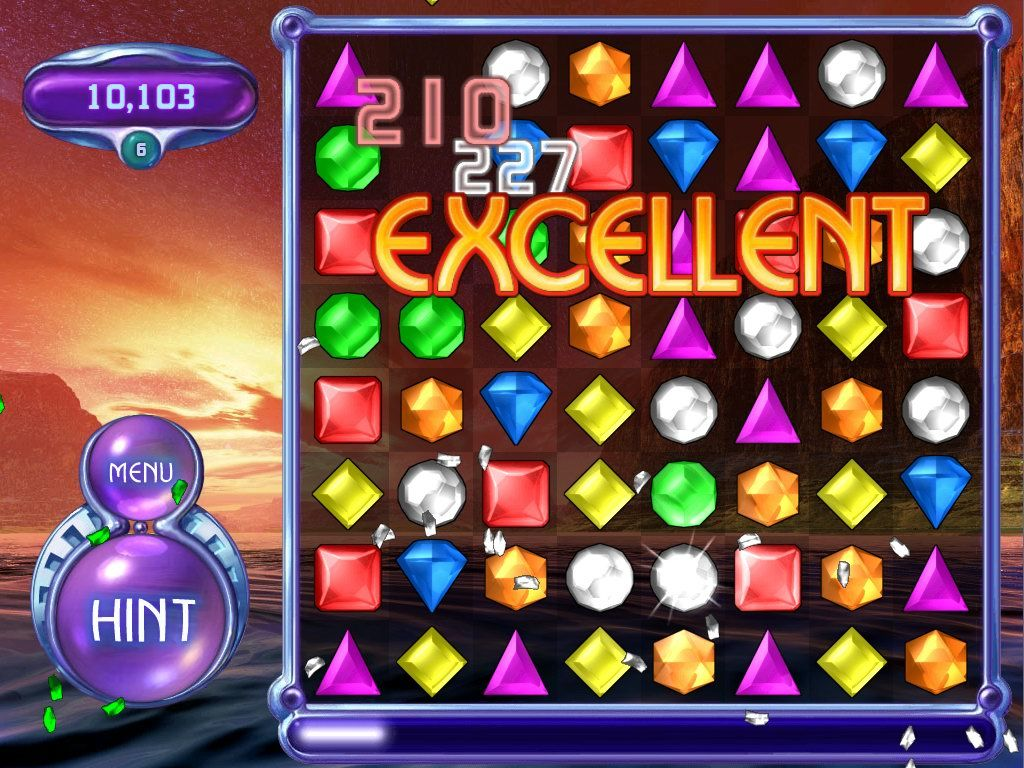 Bejeweled 2: Deluxe Windows Combos are your key to a high score