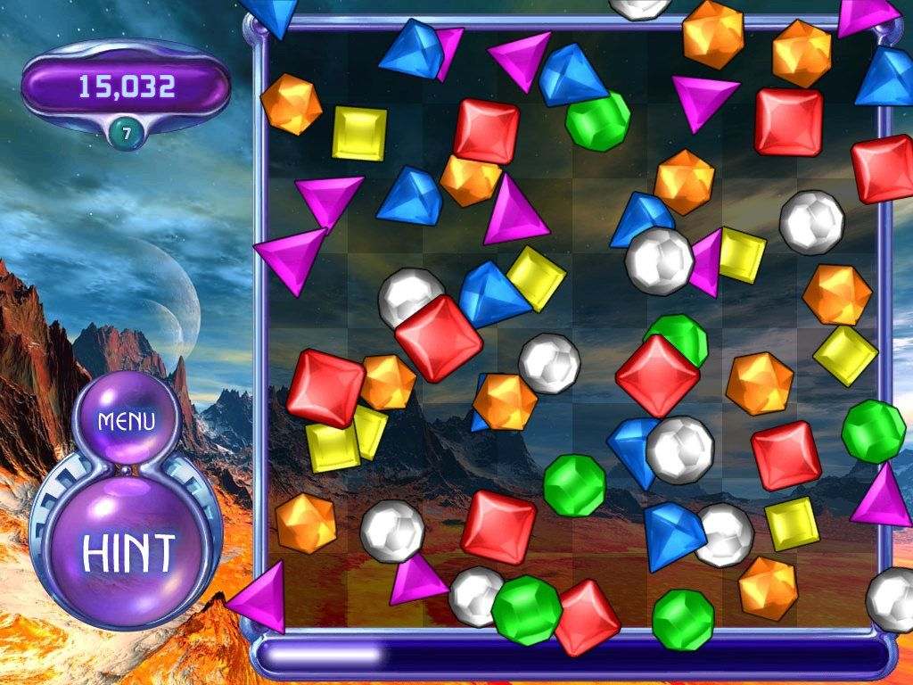 Bejeweled 2: Deluxe Windows No more moves!