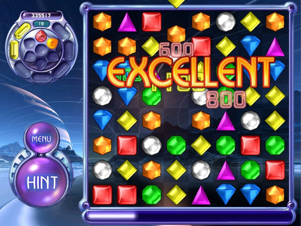 Bejeweled 2: Deluxe Windows Endless mode