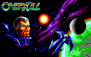 OverKill DOS Title screen