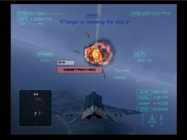 Ace Combat 04: Shattered Skies Ps2