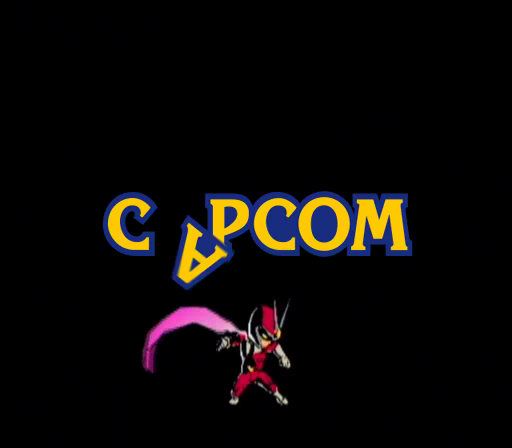 Viewtiful Joe GameCube Joe has to kick the Capcom logo back into place