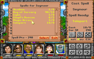 Might and Magic: Clouds of Xeen Screenshots for DOS - MobyGames