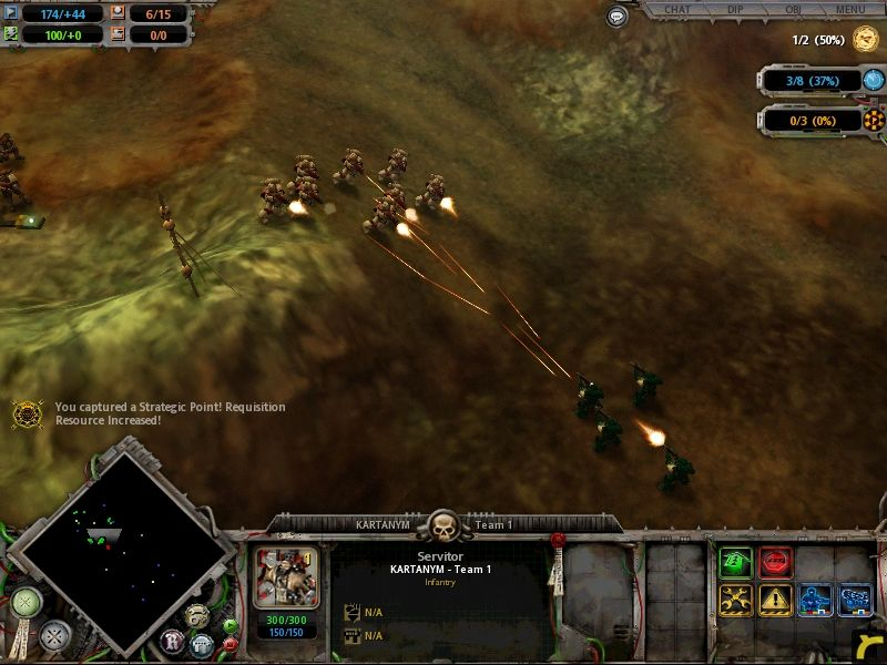 Warhammer 40,000: Dawn of War Windows out numbered and out gunned