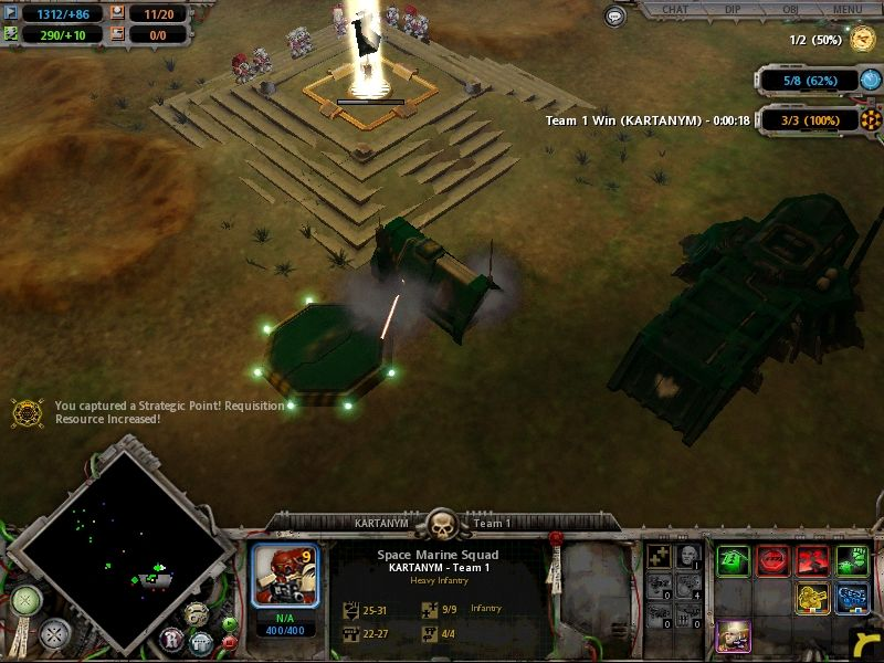 Warhammer 40,000: Dawn of War Windows The base is wide open for invasion now