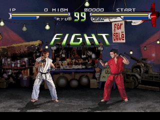 Street Fighter The Movie Screenshots For Playstation Mobygames