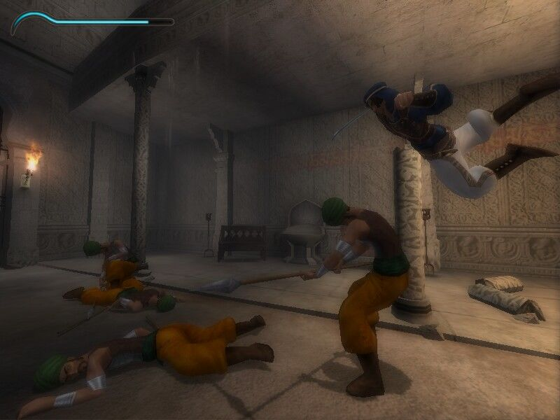 Prince of Persia: The Sands of Time Windows Slow motion attack