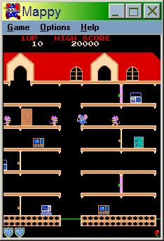 Microsoft Revenge of Arcade Windows Mappy