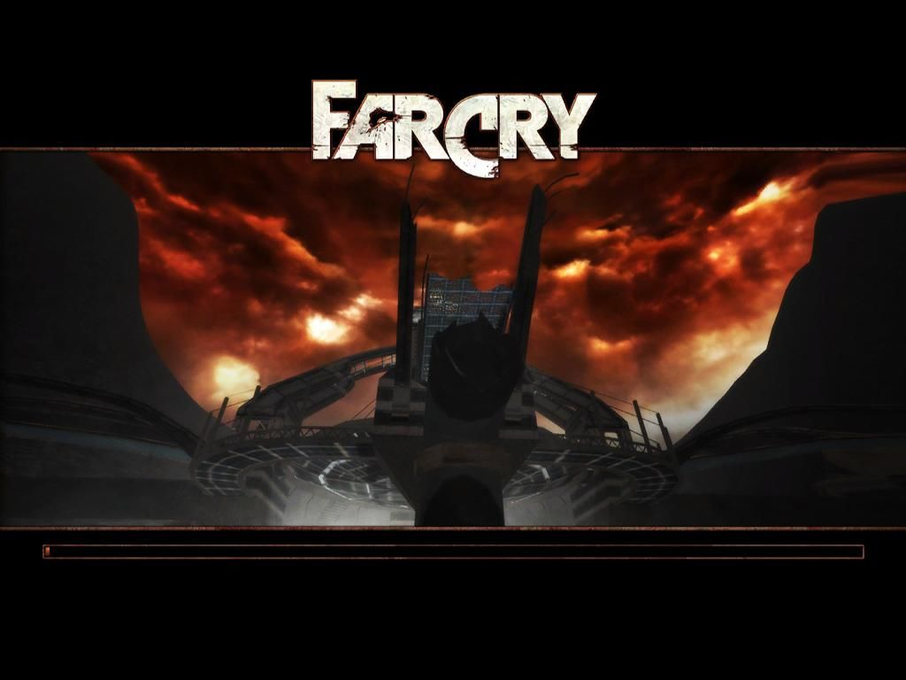 Far Cry Windows Loading screen