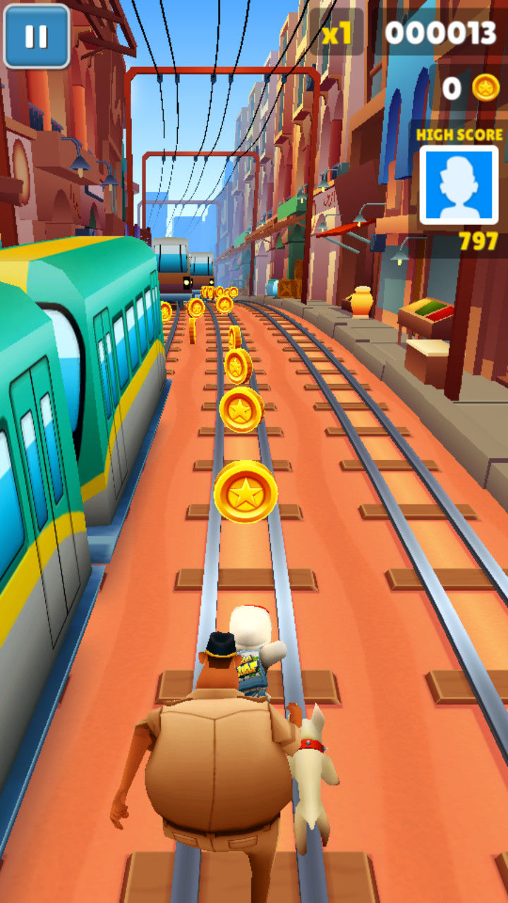 Subway Surfers Screenshots for Windows Phone - MobyGames