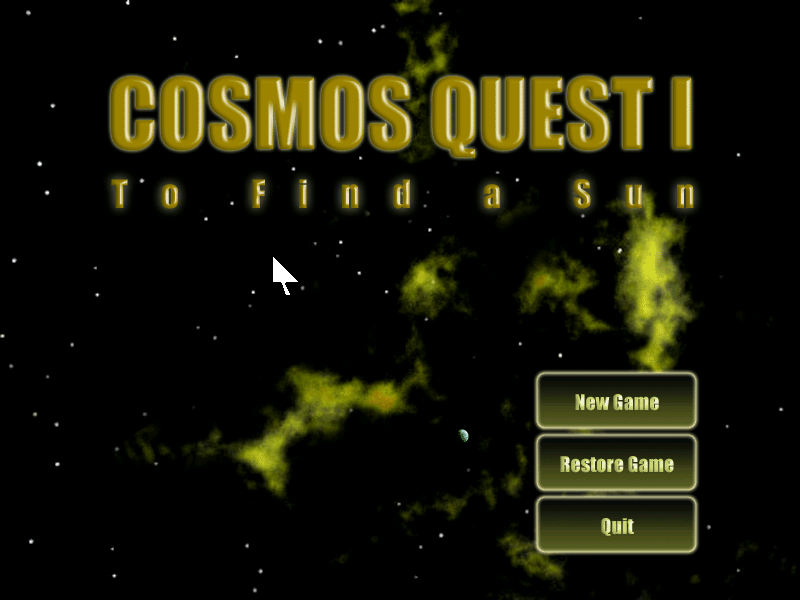 Cosmos Quest I: To Find a Sun