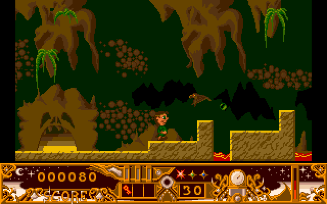 TwinWorld: Land of Vision Amiga The underground