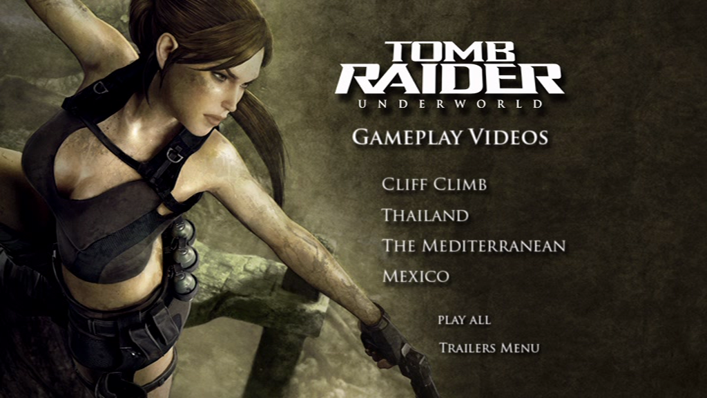 Tomb Raider Underworld Limited Edition Screenshots For