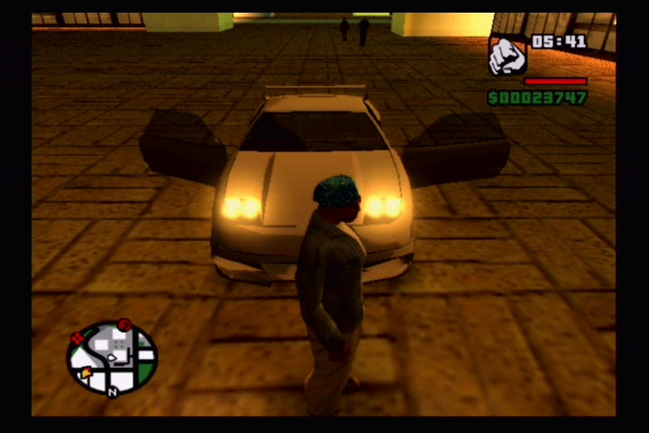 Grand Theft Auto: San Andreas PlayStation 2 I'm going for a ride