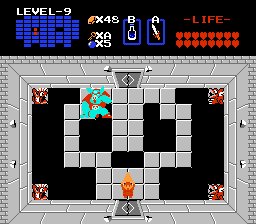The Legend of Zelda NES Ganon and the Triforce