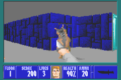 Wolfenstein 3D Game Boy Advance The German shepherds are the weakest enemies you will encounter