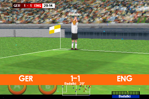 Real Soccer 2009 Android More celebrations
