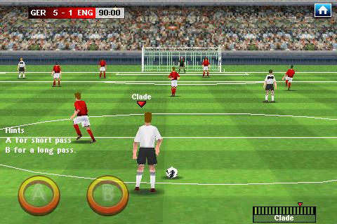 Real Soccer 2009 Android Free kick
