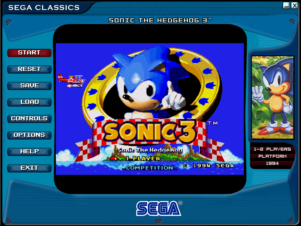 Sonic The Hedgehog 3 Screenshots For Windows Mobygames